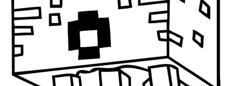 Cover minecraft coloring pages 008